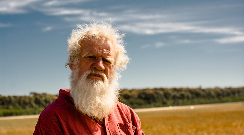 Bruce Pascoe on his farm near Mallacoota, North Eastern Victoria | Photo by  Rachel Mounsey