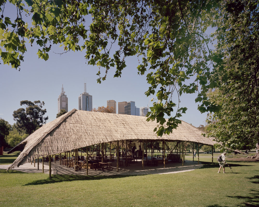 MPavilion 2016 by Bijoy Jain of Studio Mumbai