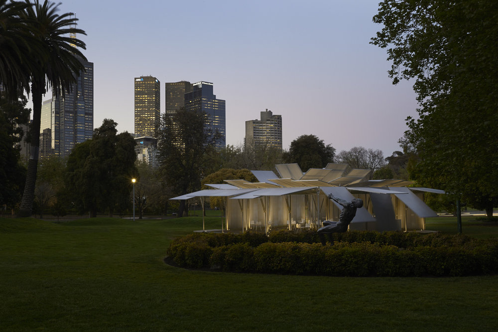 MPavilion 2014 by Sean Godsell of Sean Godsell Architects