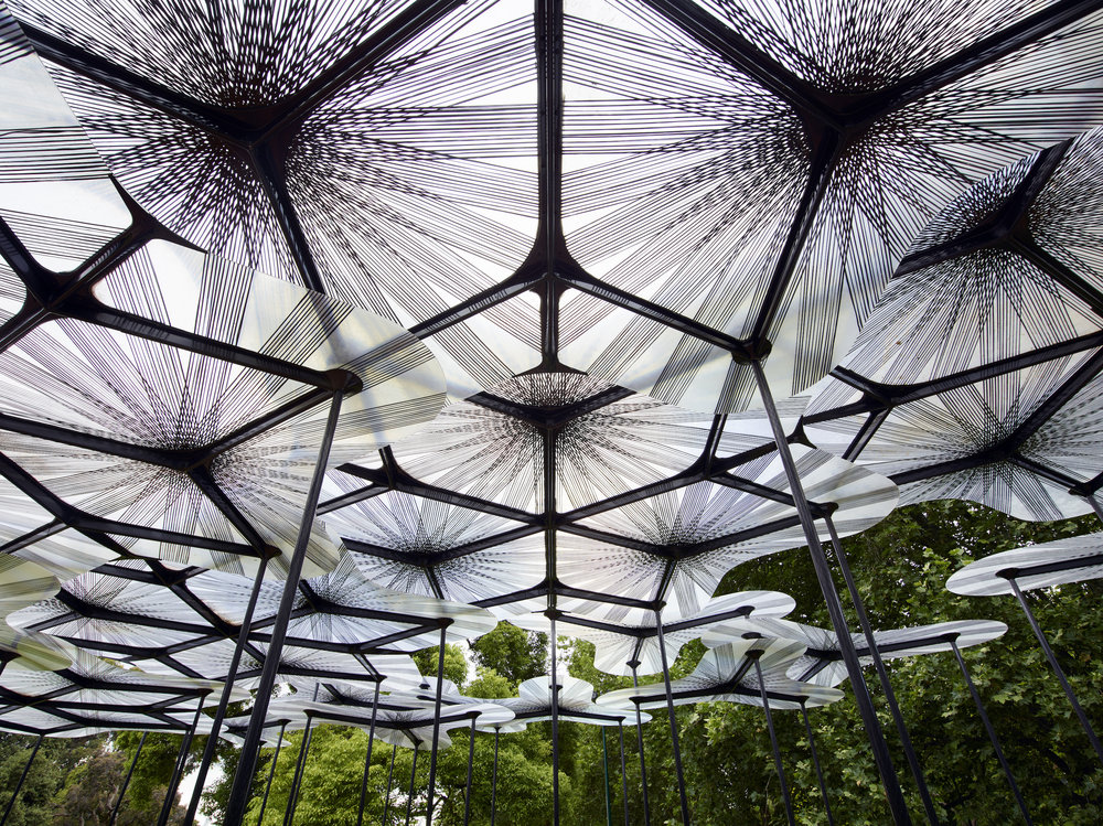 MPavilion 2015 by Amanda Levete of AL_A