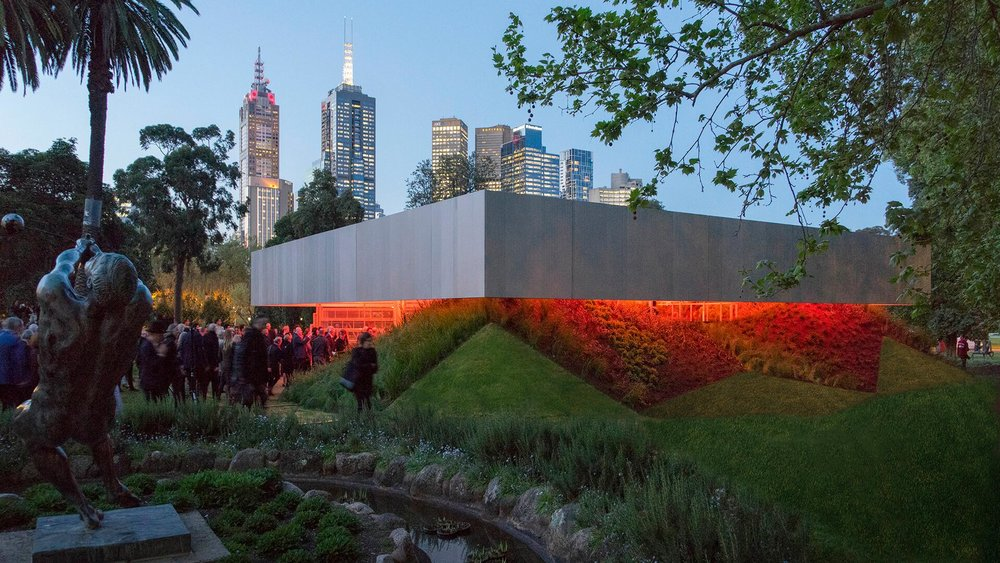 MPavilion 2017 by Rem Koolhaas and David Giannoten of OMA