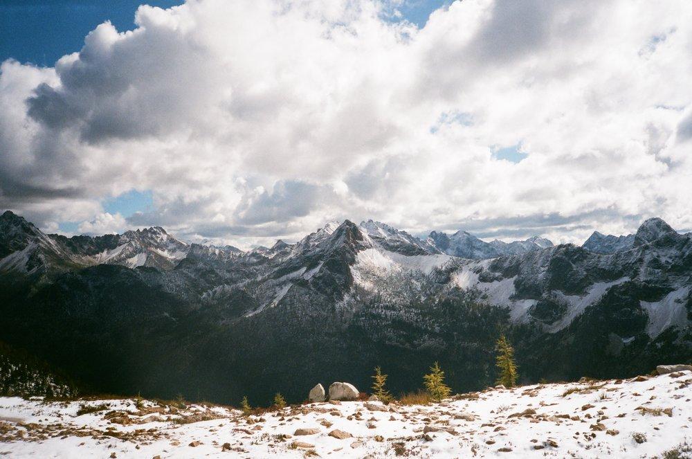 North Cascades, Pacific Crest Trail (Washington, US).