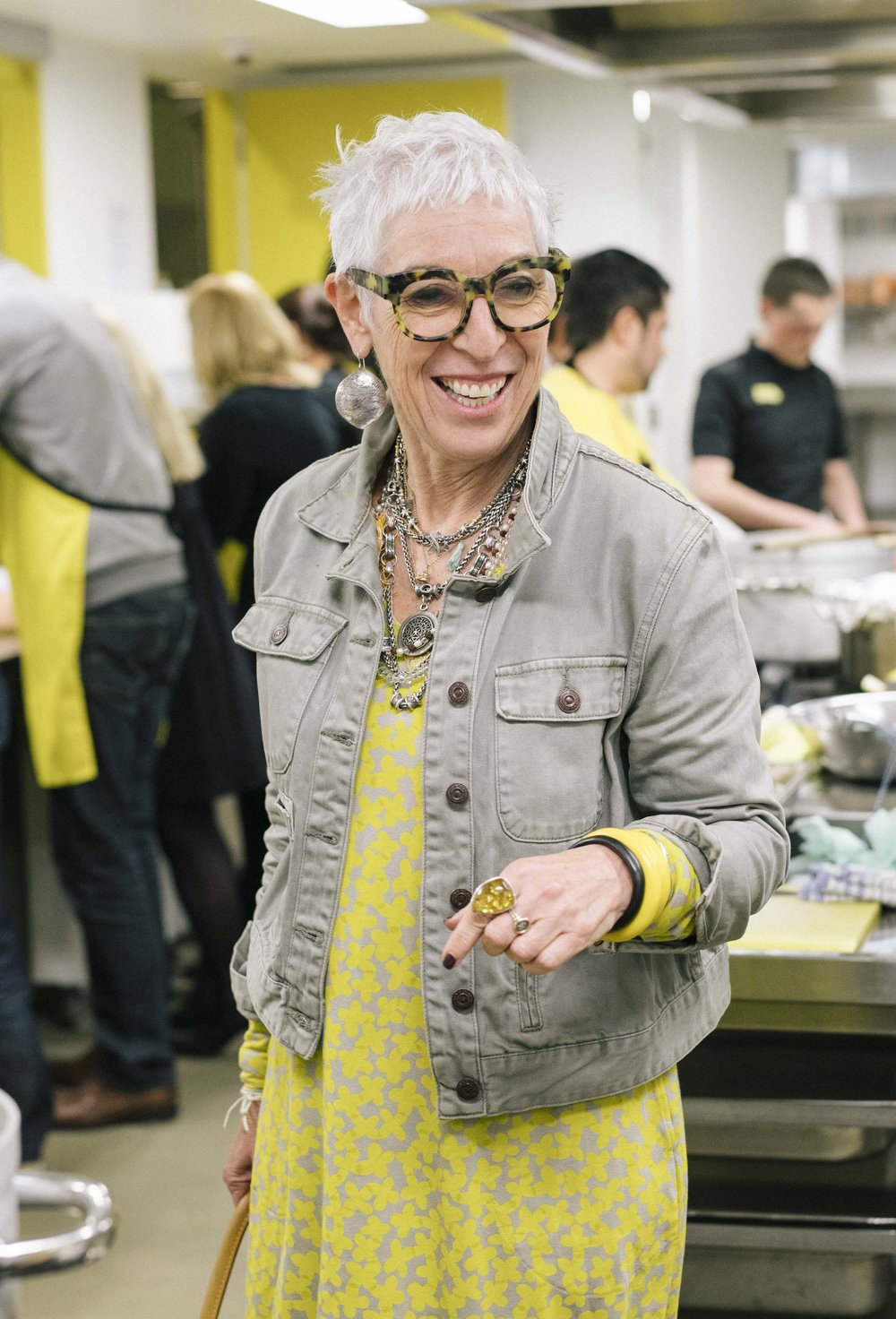 Ronni Khan in OzHarvest's HQ.