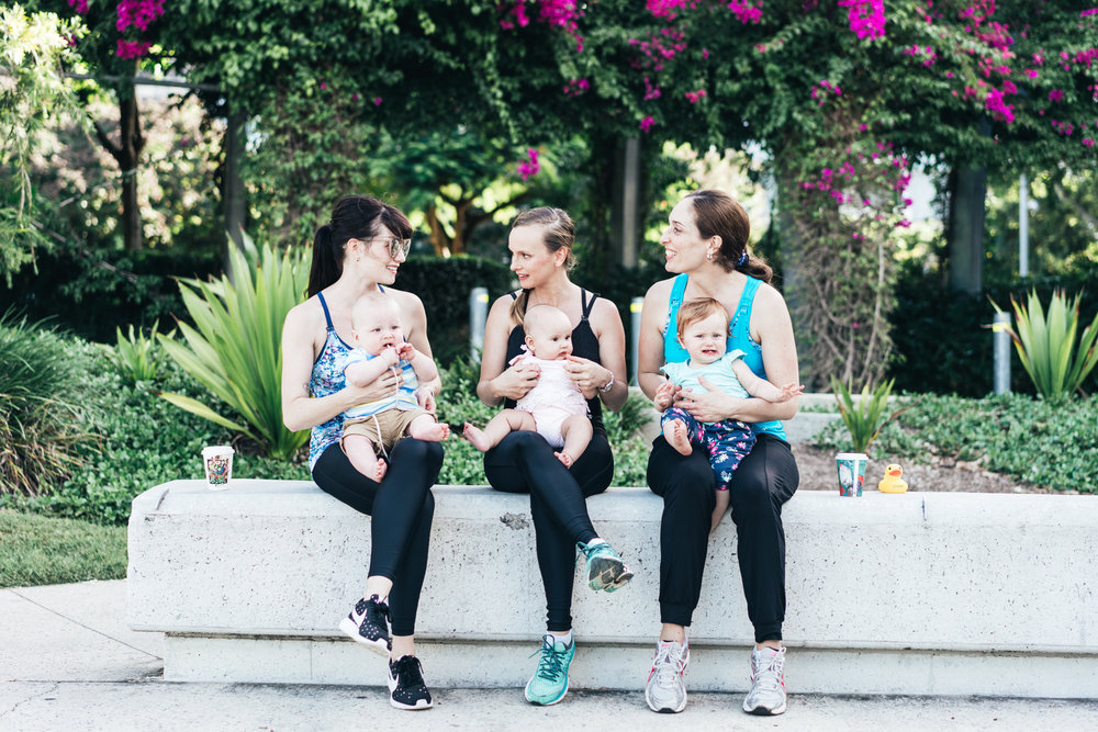 Mammojo's lactivewear range that feature breastfeeding tops with a built-in bras.