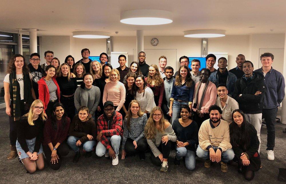2017-2018 Semester 1 consultants