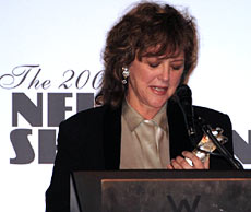 Luminous leading lady Bonnie Bedelia honored at the Nells