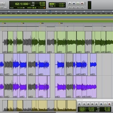 Audio Editing  We can take your recordings and clean them up. We are Pro Tools certified in music production and we know all of the tricks to make you sound slick. From tuning vocals to quantizing drums and instruments, we've got you covered.  We also edit voice-overs for audiobooks and commercials.    Ask for a quote