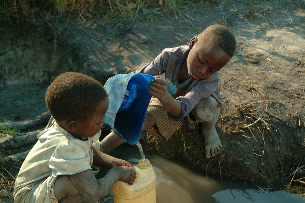 No child should endure the horror of contaminated water! - Thank you for your generous support!