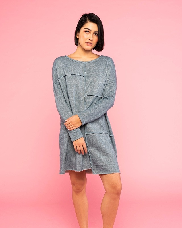 This cold front needs to chill. Here's a sweater dress to make the best of current situations. ❄️🔥 #loveplaypcill