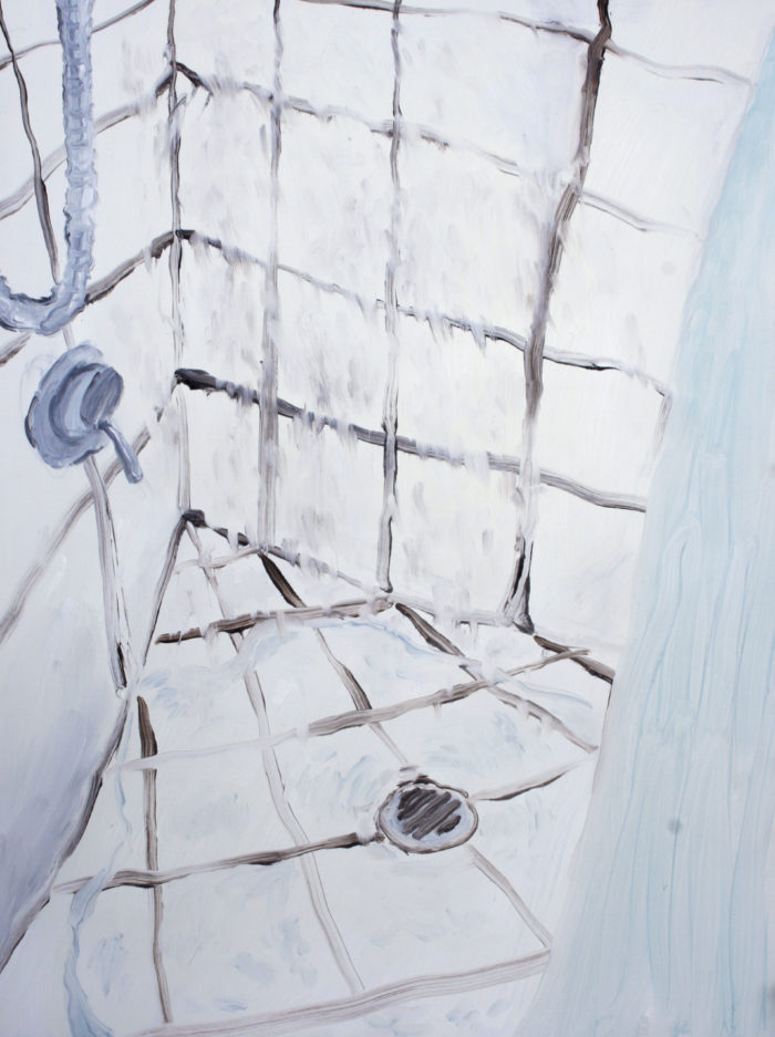 HarukaSawa_Shower2015-Oil-on-board-e1487377077883.jpg