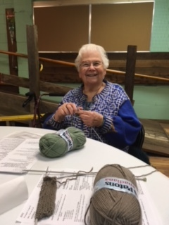 - Esther Anderson has been a professional knitter for over 40 years. She ran a successful yarn shop in Downtown Victoria and has crafted garments that have sold for hundreds, even thousands of dollars. She has even worked on a wedding gown. Learn from the best!