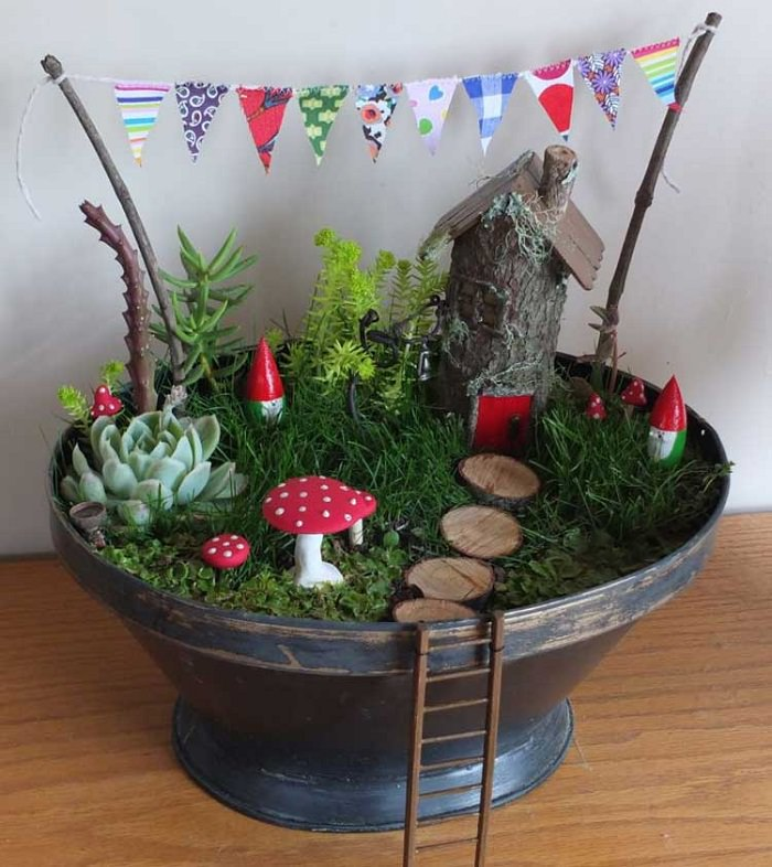 Magical Fairy Garden Workshop  Friday Pm