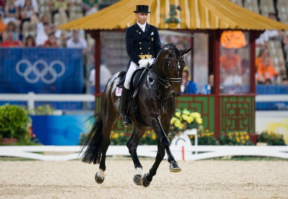 Steffen Peters rides Ravel, Beijing Olympics