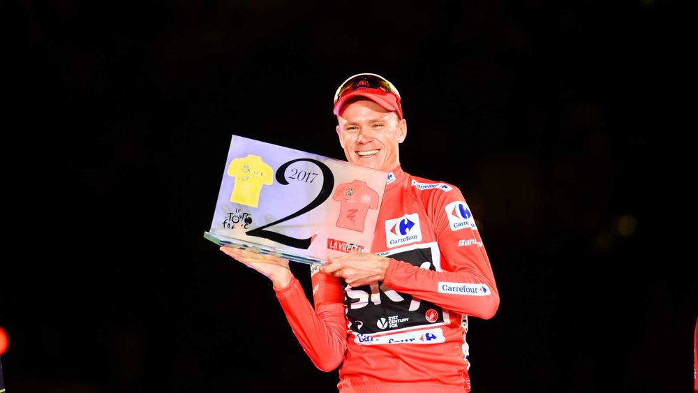 Chris-Froome-Tour-de-France-Vuelta-a-Espana-Grand-Tour-double-red-jersey-Team-Sky-podium-2017-pic-Sirotti.jpg