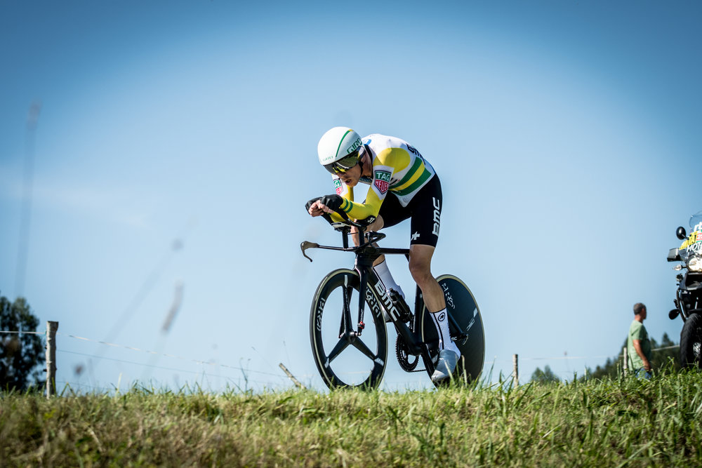 """- """"To be honest, whenever I get to a Time Trial, I don't really look at myself as a favourite…"""""""
