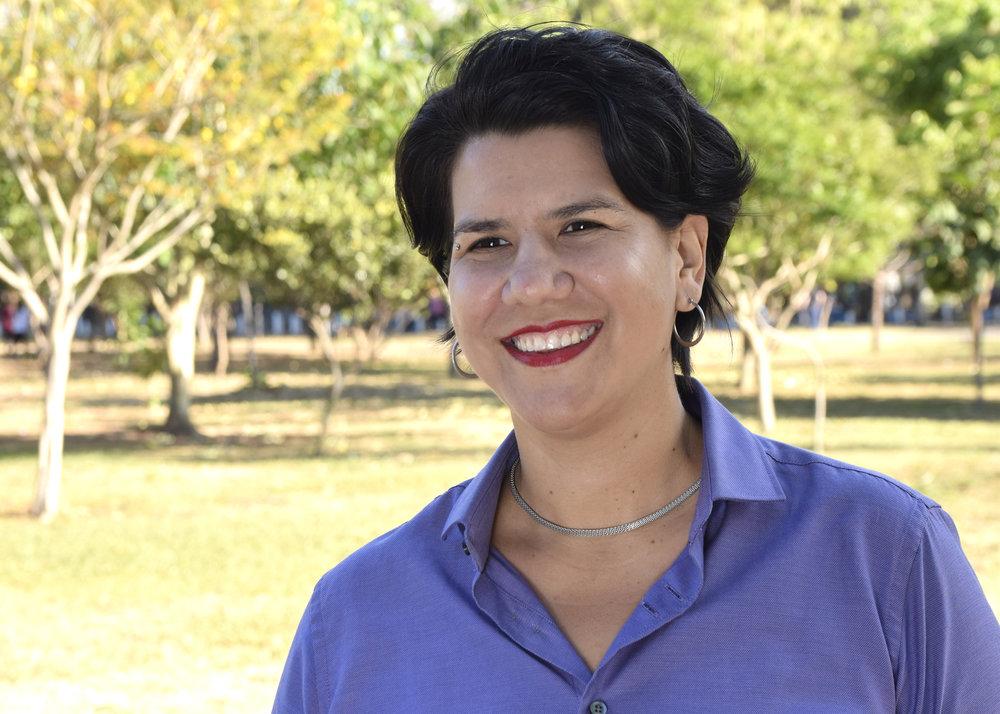 Margarita Salas, activista con más de 20 años de experiencia