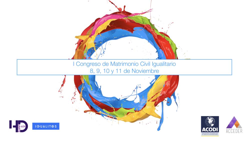 I Congreso de matrimonio civil igualitario