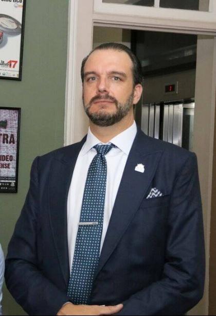 Bertrand-Xavier Asselin, encargado de negocios a.i. de la Embajada de Canadá.