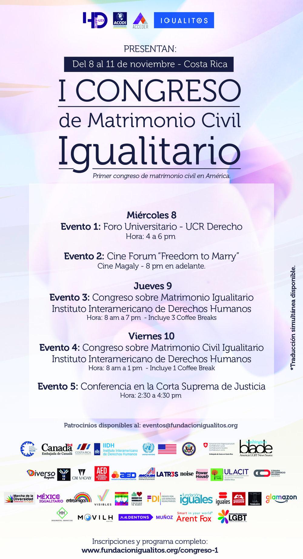 Congreso-de-Matrimonio-Civil-Igualitario-Costa-Rica-Herman-Duarte-IGualitos-Hduarte-Lex-Naciones-Unidas-Freedom-To-Marry