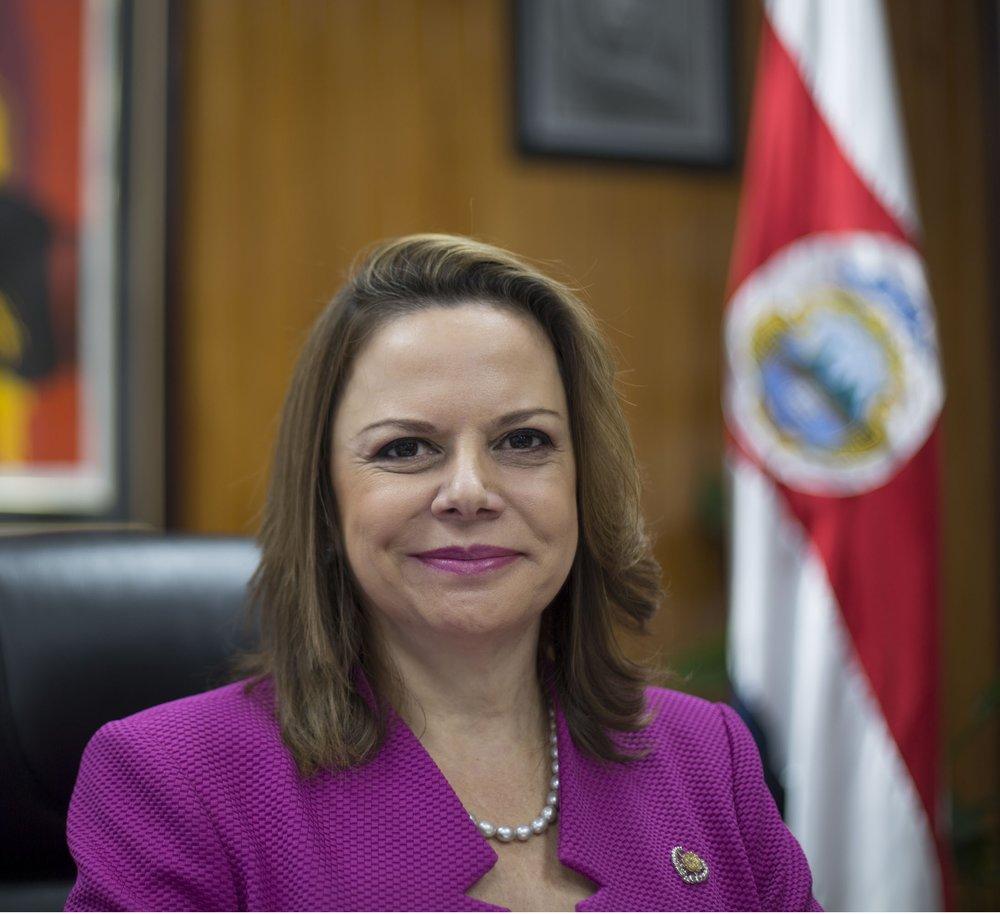 Ana_Helena_Chacon_vicepresidenta de Costa Rica