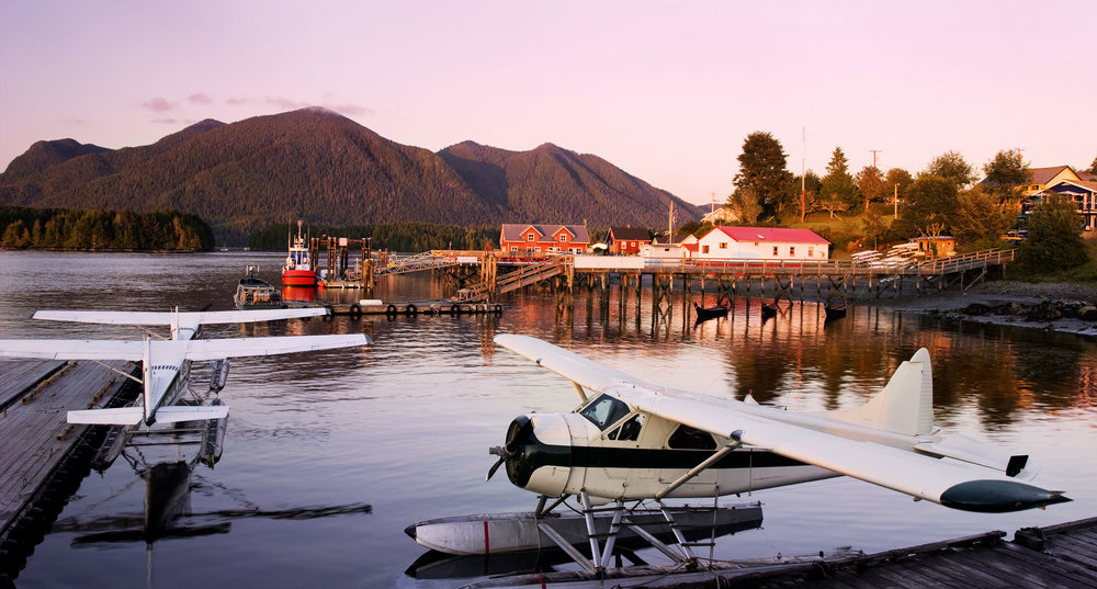 There is no better way to take in the beauty of the region than by taking a seaplane to Tofino‭.‬