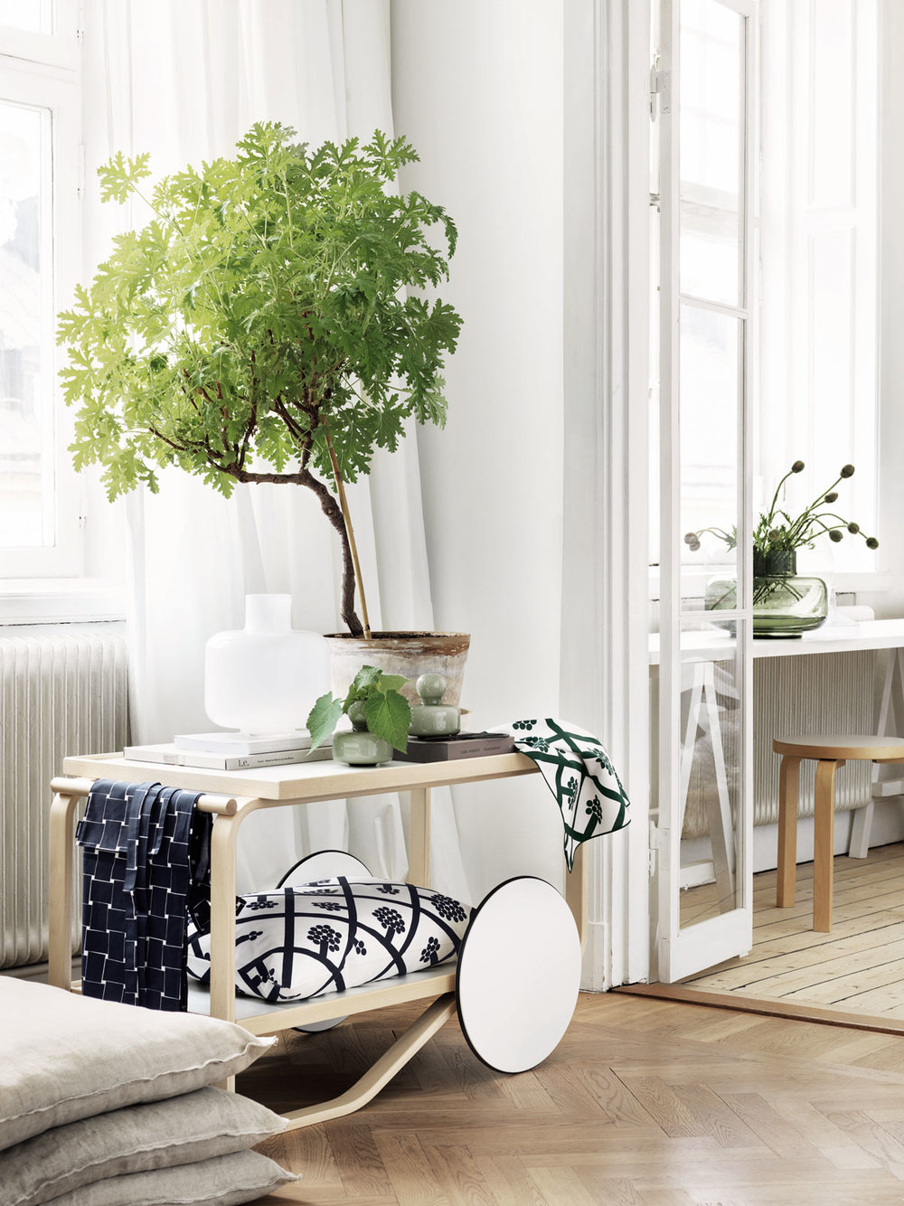 - In Feng Shui there is also always the question of balance‭. ‬Too much green can be overpowering‭, ‬so green foliage should also be balanced by white or beige colours‭, ‬this will have a purifying and harmonising effect‭.‬