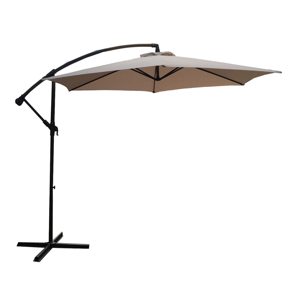 - The second generation of Chinese manufactured garden umbrellas that came onto the market was the Cantilever version which was known as the Crown umbrella‭.‬