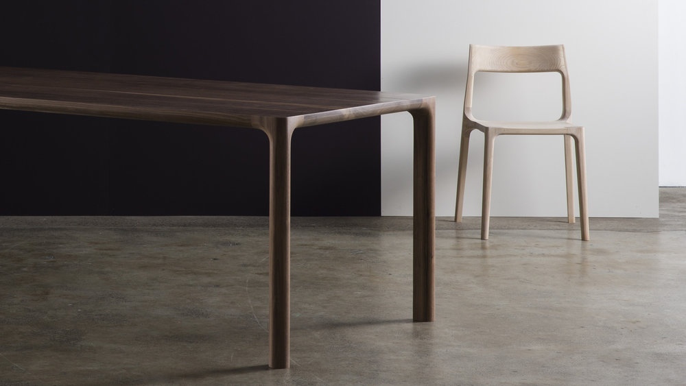 Molloy table and chairs by Adam Goodrum for CULT‭.‬