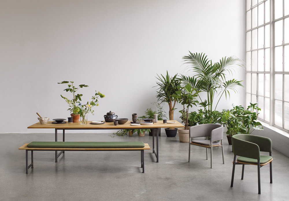 Atmosphere outdoor furniture collection for Gloster.