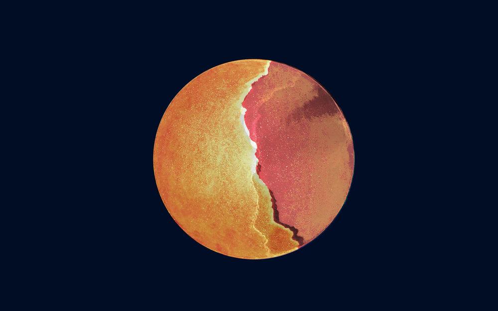 Lunar Moods, N°11 Gold - Anne RB