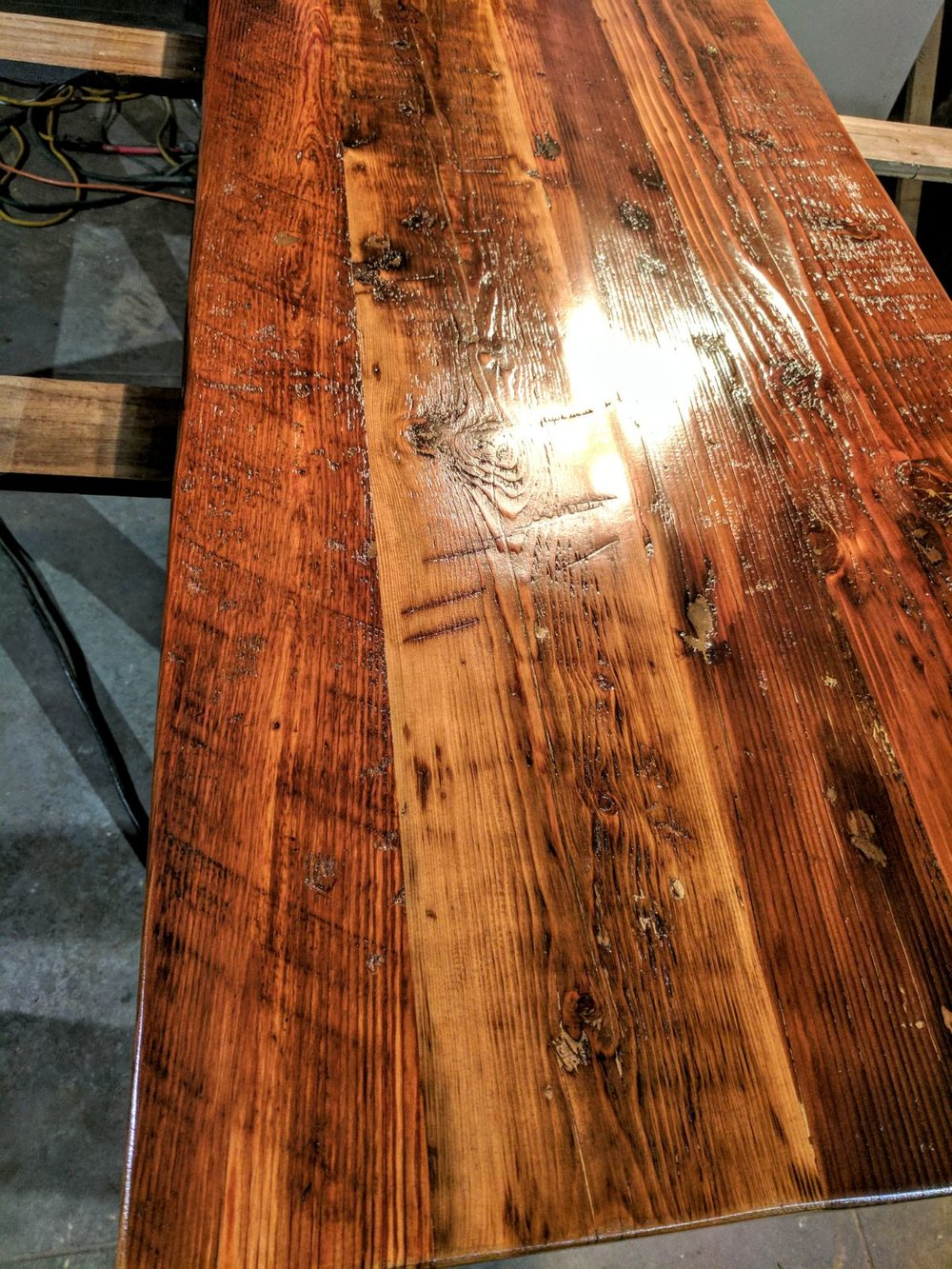 Amazing Reclaimed Wood Tables
