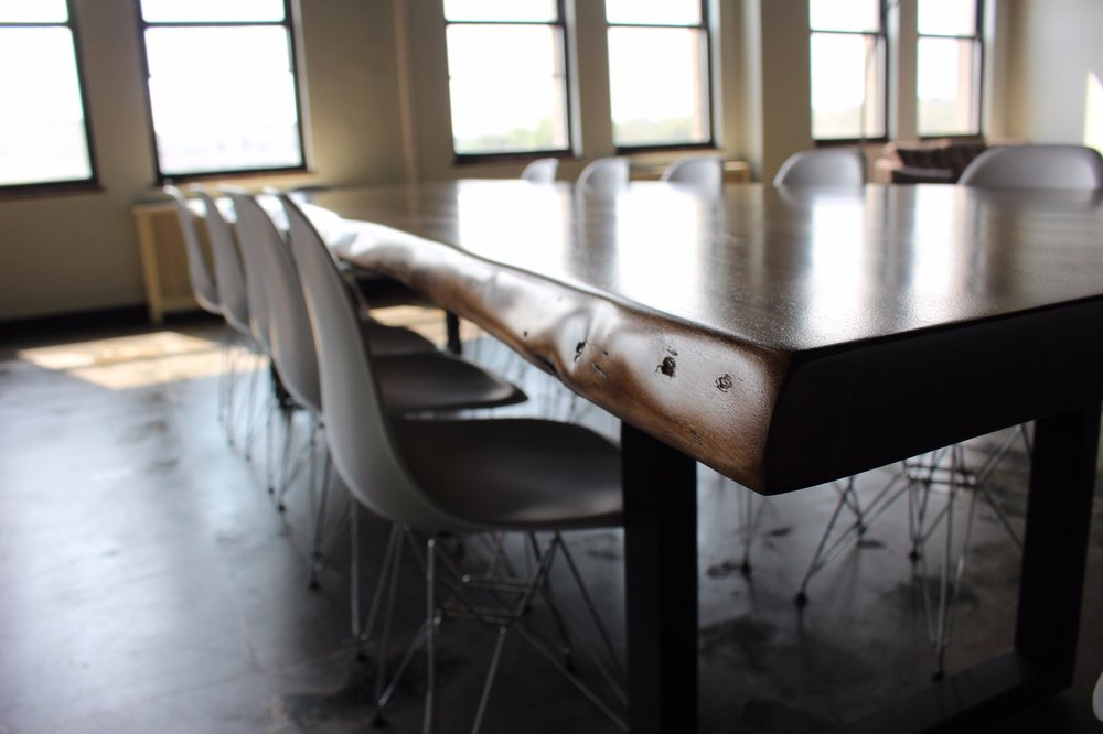 wood conference tables in NYC