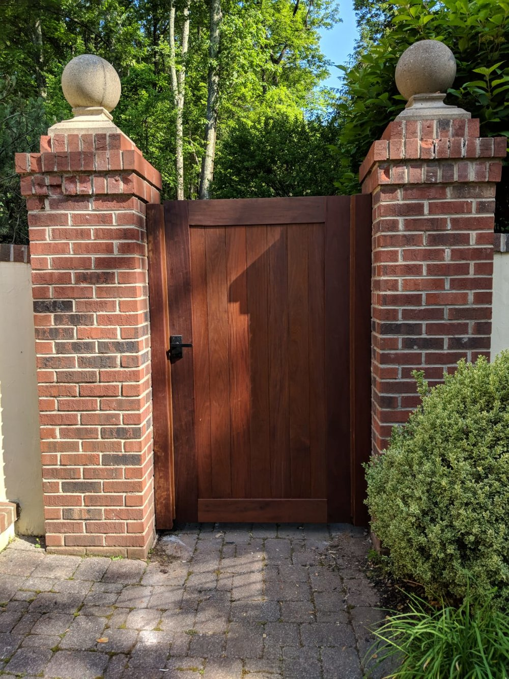 Custom Ipe doors in NJ, CT, NY, PA, LI