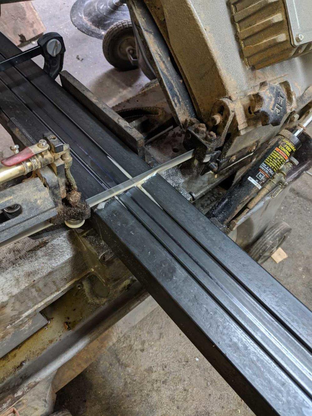 cutting metal