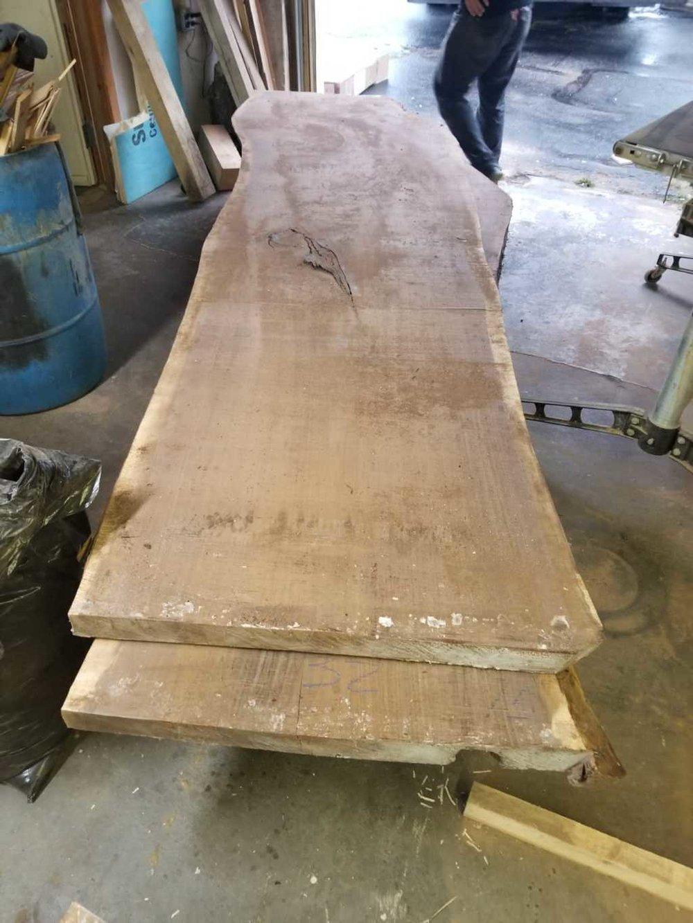 big live edge walnut slabs CT