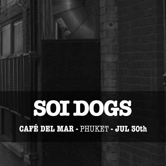 #SOIDOGS @ @cafedelmarphuket