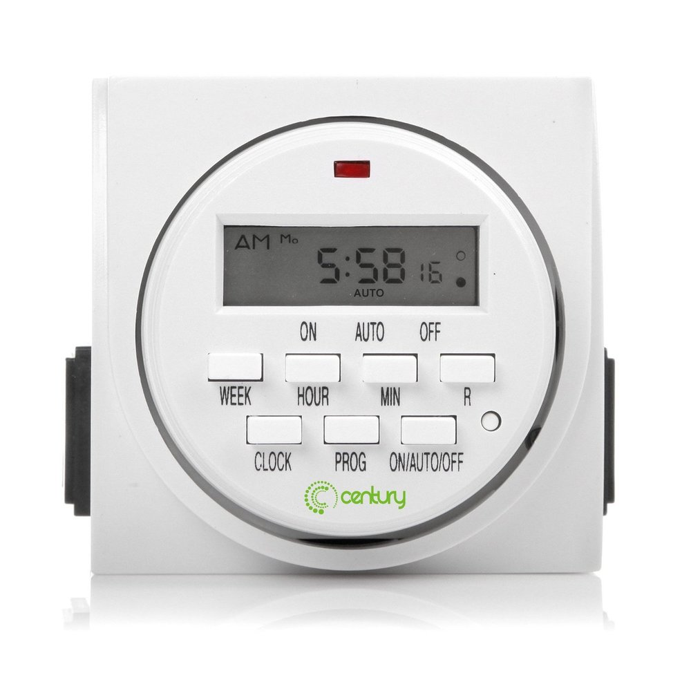 Devices home garage security 7 day heavy duty programmable outlet timer mozeypictures Gallery