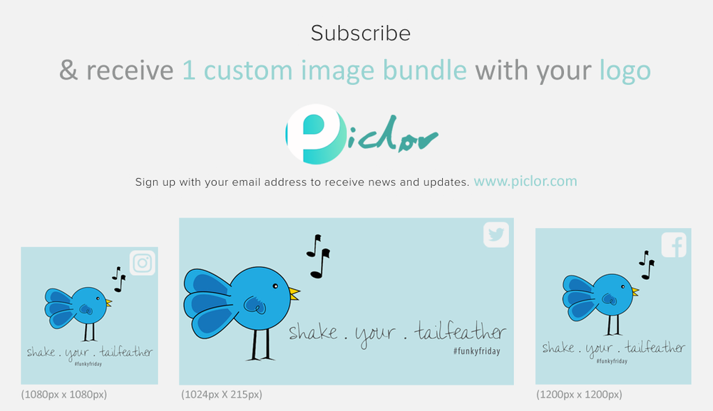 Only one image bundle per subscription will be sent to subscribers