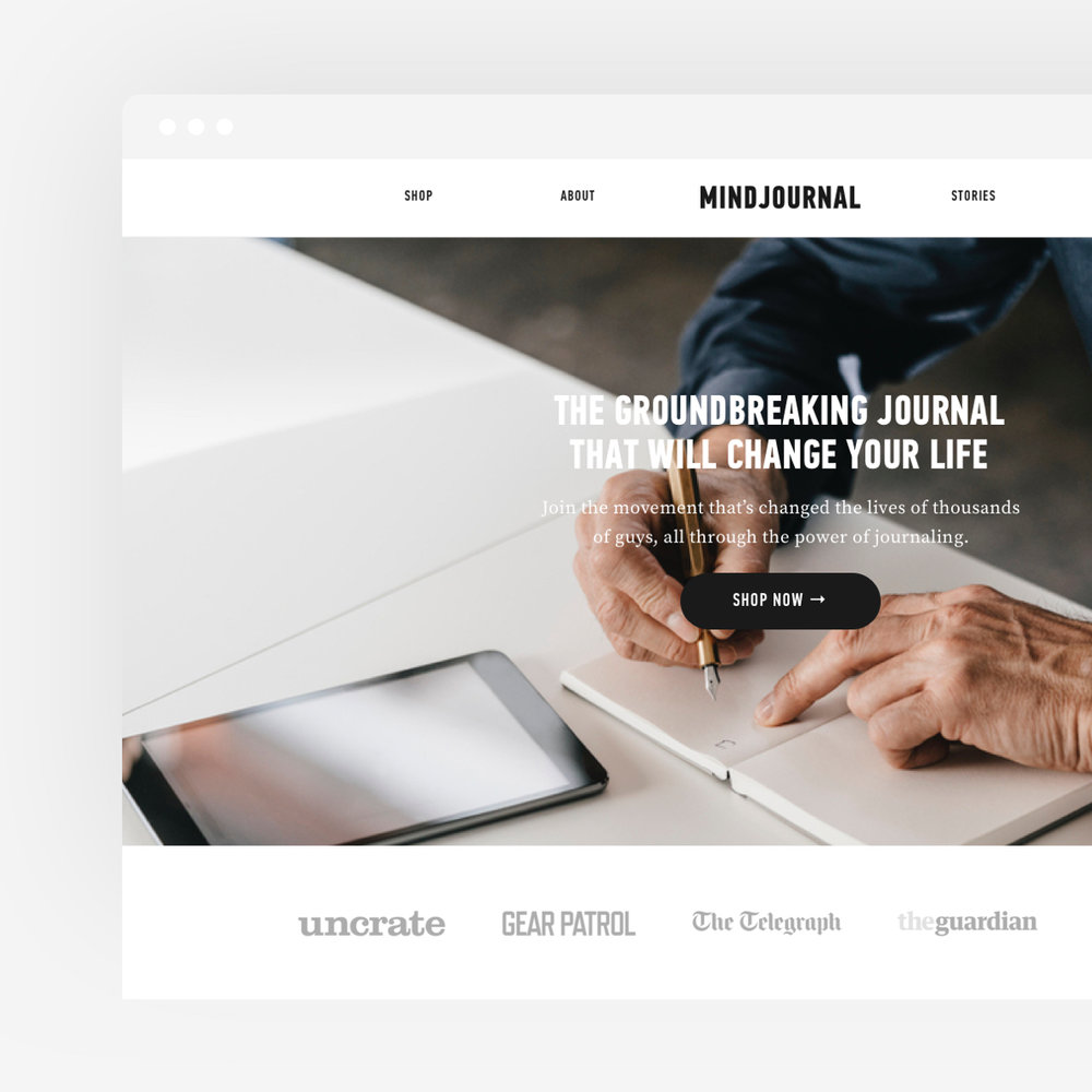 MINDJOURNAL  Launching a global movement to improve men's health and happiness
