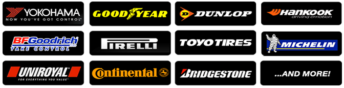 Extensive range of tyres in Stock -