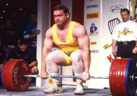 Pictured is Ed Coan, one of the strongest power lifters of all time, he's also jacked.  Coincidence? Doubtful.