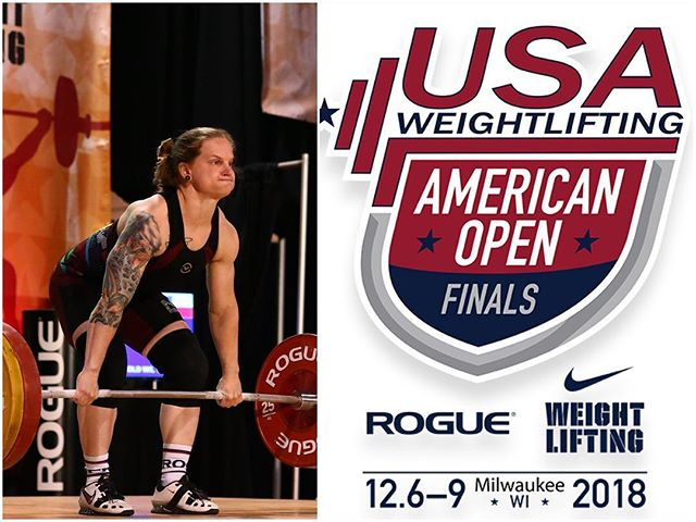 It's meet week 😁 Our own Megan Munsell is off to lift in the 64 kg A session this weekend at the American Open Finals! 🏋️‍♀️ She will be representing North Dallas Barbell as part of East Coast Gold Weightlifting Team! . Megan lifts on Saturday at 3:20 pm (Dallas time) - Red platform. We'll post the livestream link in our bio! . @meganthebest  @phillysab  @eastcoastgoldwl  #PRtime #chasingmedals #letsgo #weready #AOFinals2018 #eastcoastgold #northdallasbarbell