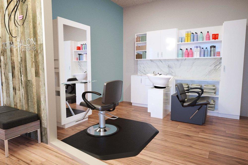 Barber shop chair rental