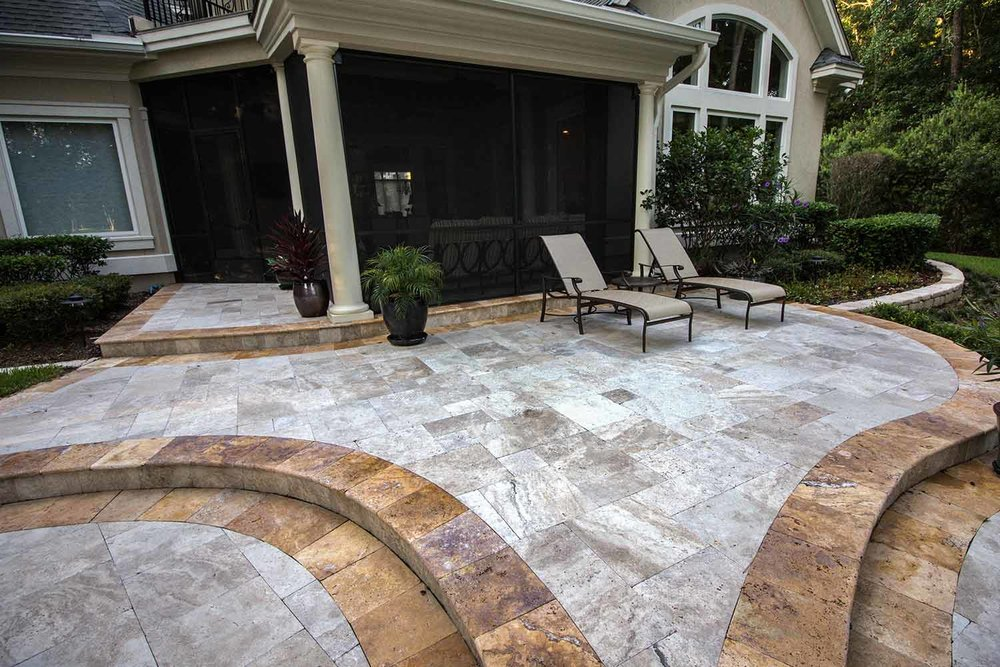 Stone Patio Design Ideas Bluffton SC
