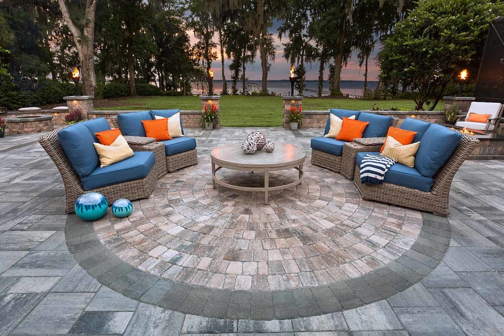 Outdoor Living Paver Designs Bluffton SC