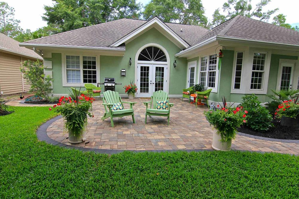Paver Patio Designs Hilton Head Island SC
