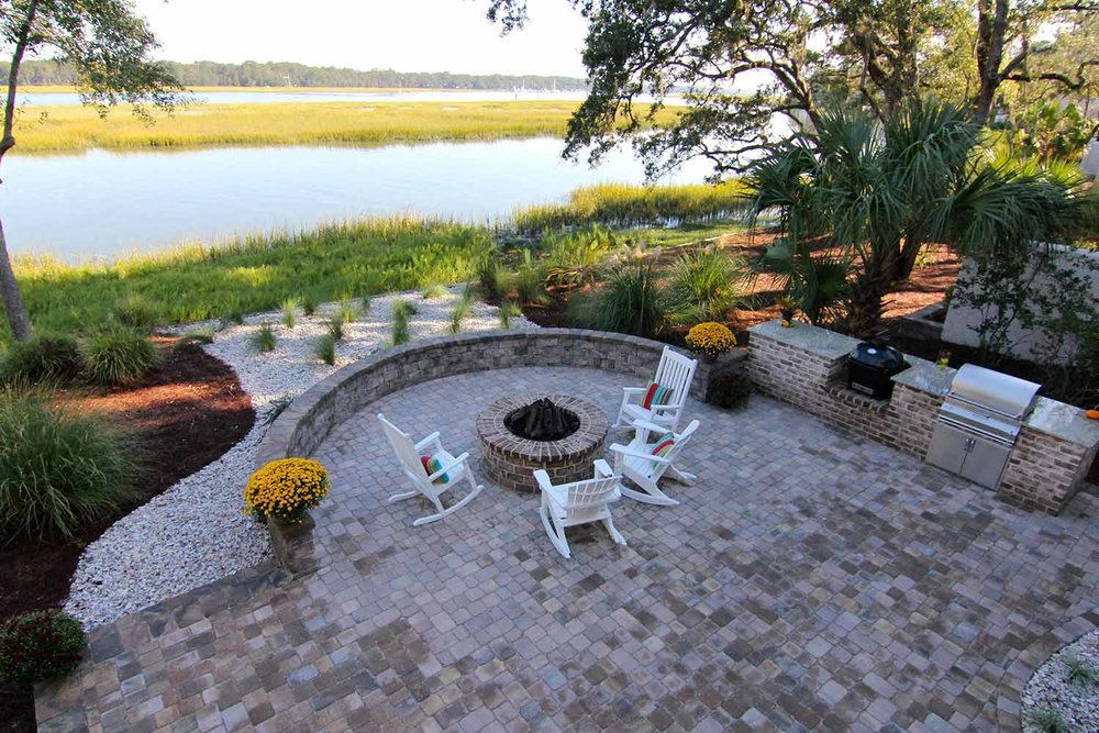 Patio RESOURCES:  - Designing Your PatioTypes of Patio PaversPutting Pavers Over Concrete