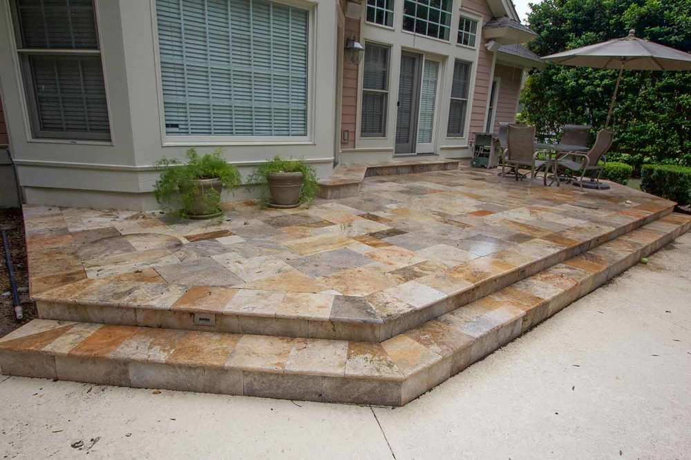 Stone Step Constractors Bluffton SC