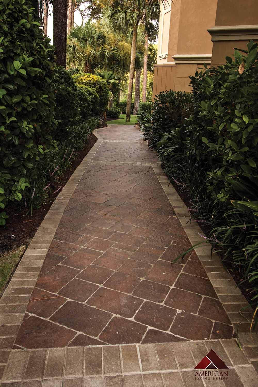 Natural Stone Walkway Installation Hilton Head Island SC