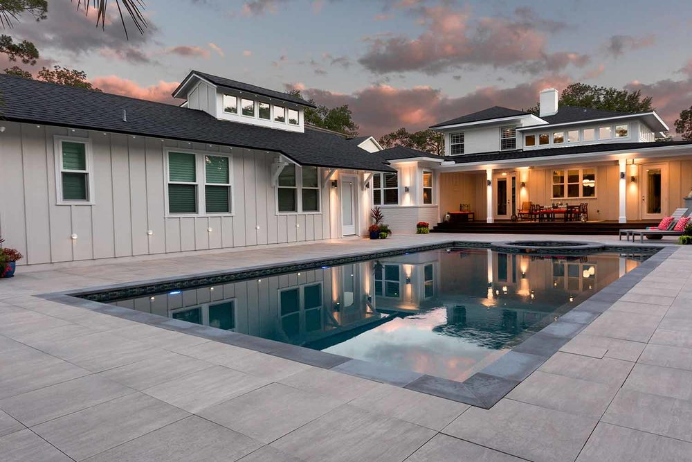 Pool deck RESOURCES: - Remodeling Your Pool DeckAbout Paver Pool Decks